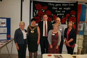 Phil Wilson MP with Aycliffe Village Local History Society