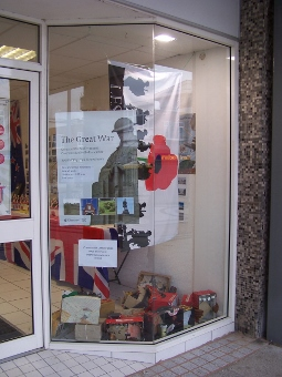 WW1 shop window